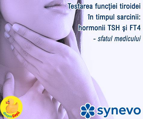 Testarea functiei tiroidei in timpul sarcinii:  hormonii TSH si FT4 - sfatul medicului (VIDEO)