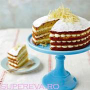Tort delicios cu lamaie si mascarpone