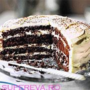 Tort negru si alb