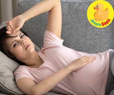 Din saptamana 34 totul devine din ce in ce mai greu cu fiecare zi ce trece - jurnal de sarcina