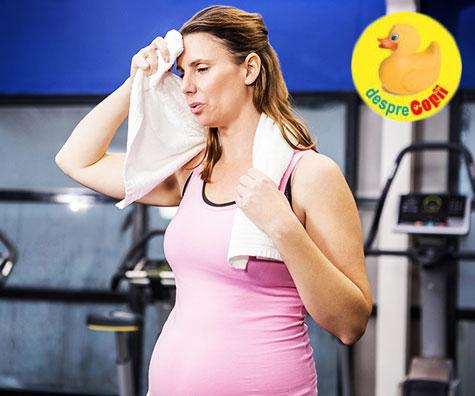 Transpiratia in timpul sarcinii