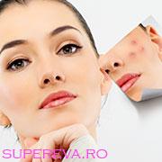 Secrete nutritionale pentru tratarea acneei