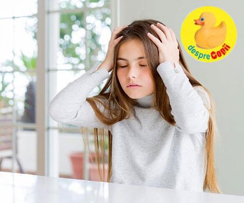 Cum scăpăm de durerea de cap a copiilor, ghid cu imagini
