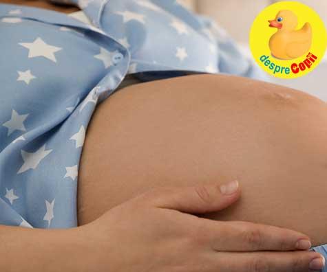 Incepem trimestrul II de sarcina si aflam sexul copilului - jurnal de sarcina
