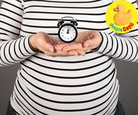 Inceputul trimestrului 3 de sarcina: senzatii noi - jurnal de sarcina