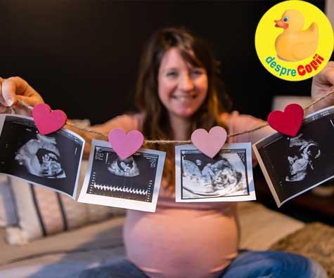 Ecografia din trimestrul 3 cu sarcina gemelara - jurnal de sarcina