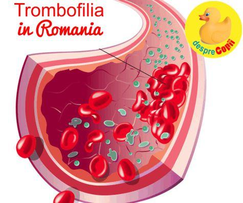 Ce este trombofilia si de ce pare sa fie atat de populara in Romania?