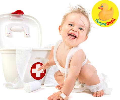 Trusa medicala a bebelusului - sfatul medicului pediatru