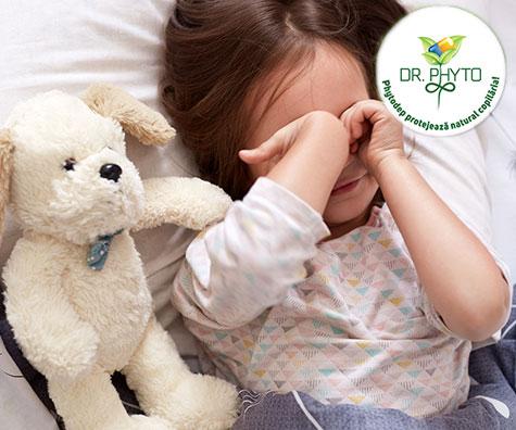 Cele mai frecvente tulburari de somn la copii