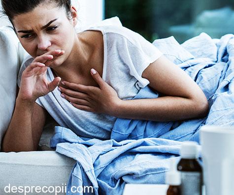 Tusea in infectiile de tract respirator. Prieten sau dusman?
