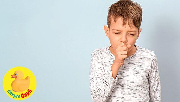 Tusea convulsiva la copil: simptome, tratament si prevenire