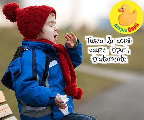 Tusea la copii: cauze, tipuri, tratamente