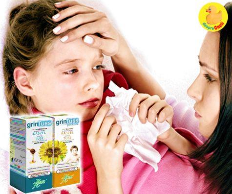 Tusea copilului: cauze si un remediu natural inovativ