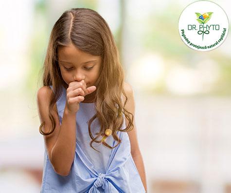 Tusea la copii vara - Ce o cauzeaza si cum o tratam?