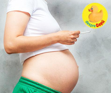 Fumatul in timpul sarcinii - intelege riscurile daca iti pasa de sanatatea bebelusului din burtica