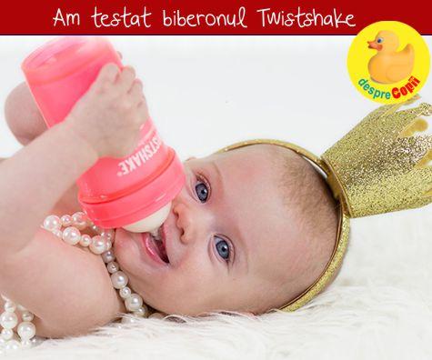 Biberonul Twistshake: am vazut diferenta chiar de la prima utilizare