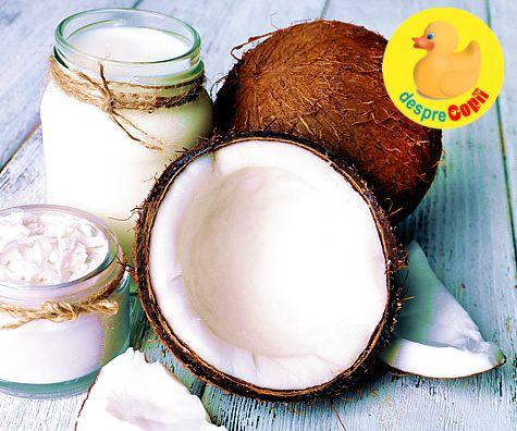 Uleiul de nuca de cocos: 101 intrebuintari