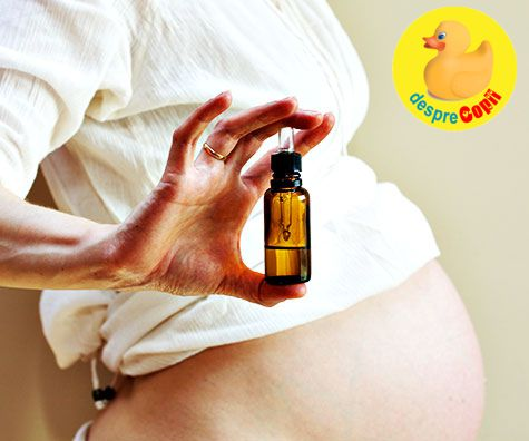5 Uleiuri esentiale pentru sarcina si travaliu