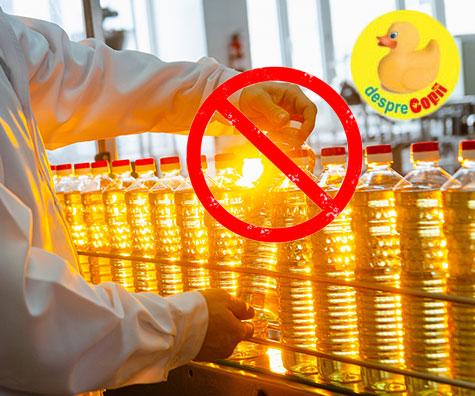 Reduceti consumul de ulei de floarea soarelui