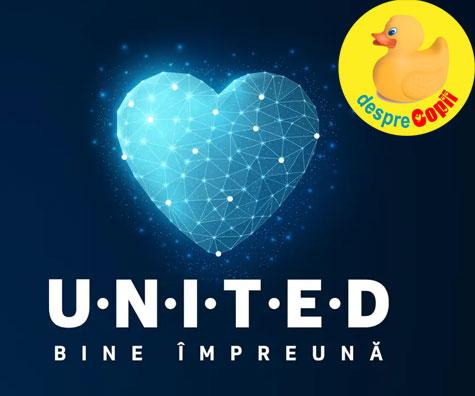 UNITED, initiativa care uneste binele din Romania!