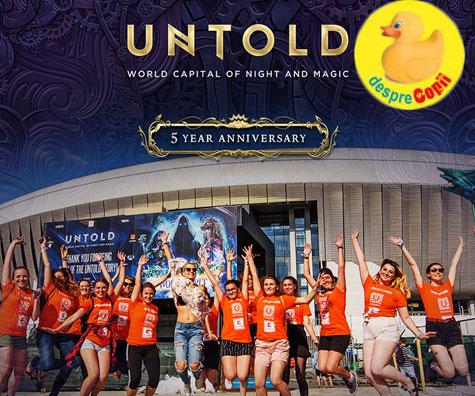 Inscrie-te in echipa de voluntari pentru UNTOLD!