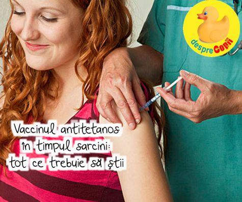 Vaccinul antitetanos in timpul sarcinii: tot ce trebuie sa stii