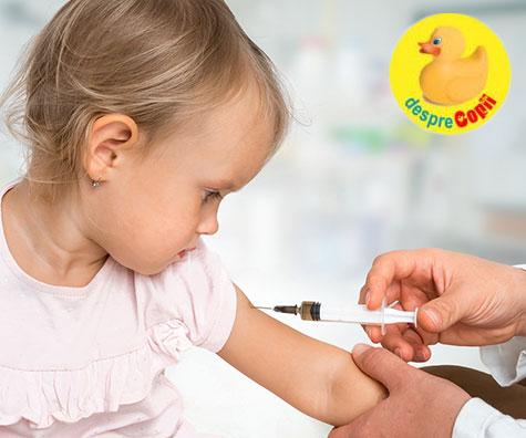 Copiii se tem de vaccinare si simt mai multa durere daca nu sunt corect pregatiti de parinti