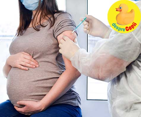Vaccinurile Pfizer si Moderna sunt eficiente in cazul femeilor insarcinate si a celor care alapteaza