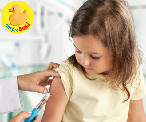 Trebuie sa ne vaccinam copiii impotriva gripei - iata raspunsul specialistilor