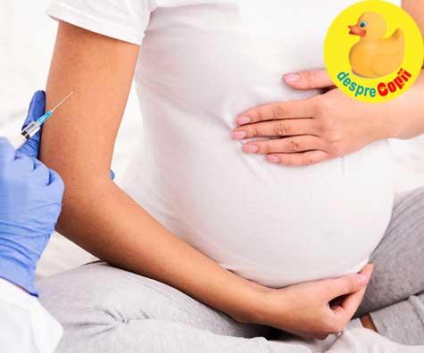 Vaccinarea anti-COVID a femeilor însărcinate - iata ce stim acum