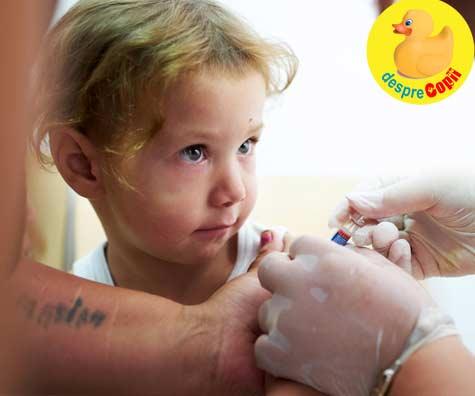 Vaccinarea copiilor in pericol: Milioane de copii riscă să nu beneficieze de vaccinurile vitale împotriva rujeolei, difteriei și poliomielitei din cauza întreruperii programelor de vaccinare