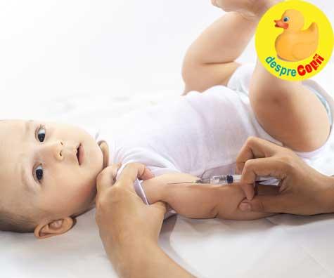 Vaccinarea sugarului - iata cele 7 vaccinuri pe care le fac bebelusii in primul an de viata si de ce