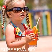 Bautura de vara a copiilor