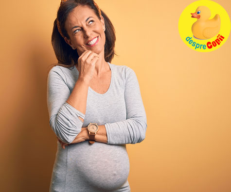 Cum afecteaza varsta mamei sarcina? Avantaje si riscuri