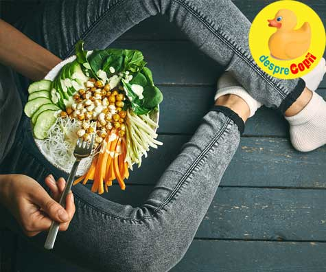 Veganismul si conceperea unui copil