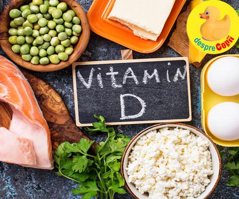 Vitamina D - 7 alimente bogate in aceasta vitamina minunata