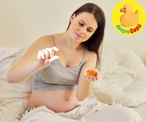 Nivelurile de vitamina D ale mamei in timpul sarcinii au legatura cu IQ-ul copilului