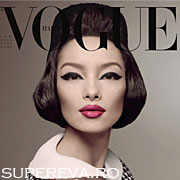 Primul model de origine asiatica pe coperta Vogue Italia!