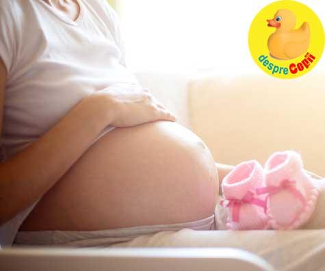 In sfarsit vom avea o fetita - jurnal de sarcina