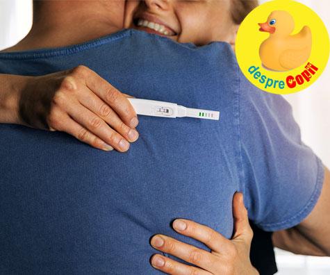 Sarcina e inceputul formarii familiei noastre - jurnal de sarcina