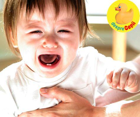 Boli ale bebelusului care se manifesta cu voma (varsaturi)