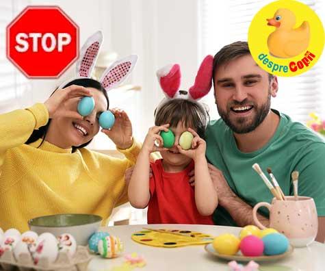 Atentie parinti la vopseaua de oua si la cati aditivi are aceasta!