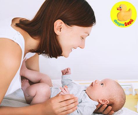 Vorbiti mult cu bebelusul: este benefic pentru creierul sau!