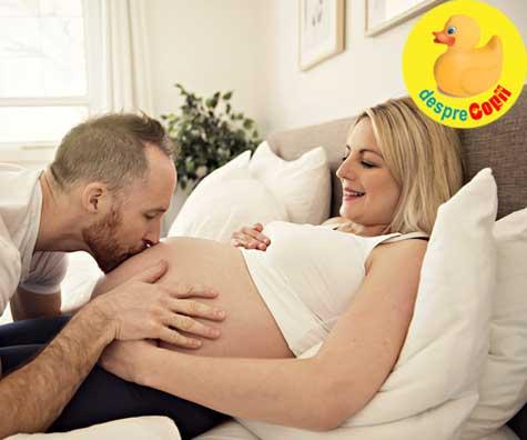 Trimestrul al treilea de sarcina - iata cum sa vorbesti cu bebelusul tau inainte de nastere