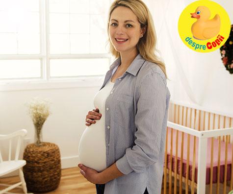 Camera bebelusului prinde culoare - jurnal de sarcina