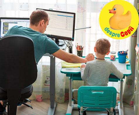Parintii isi pot lua liber de la munca pentru a-si supraveghea copiii