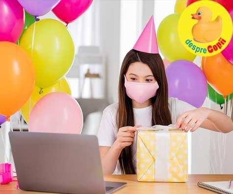 Cum organizam petrecerea de ziua copilului in timp de pandemie? Cateva idei.